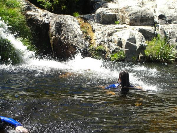Swimming through