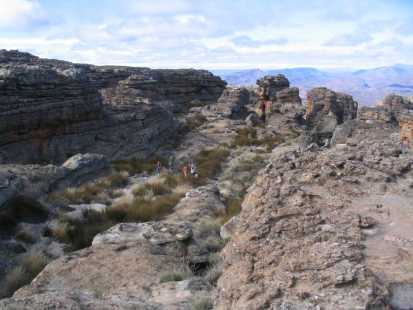 Hike to the Wolfberg Cracks, Arch and Peak