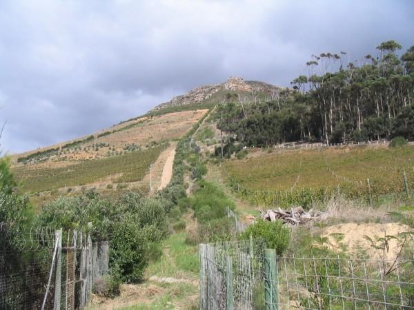 Descent next to Silvermist