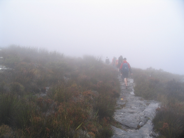 Approaching Maclears Beacon