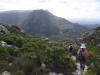 Descending to Constania Nek