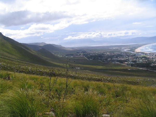 The distant town of Kleinmond