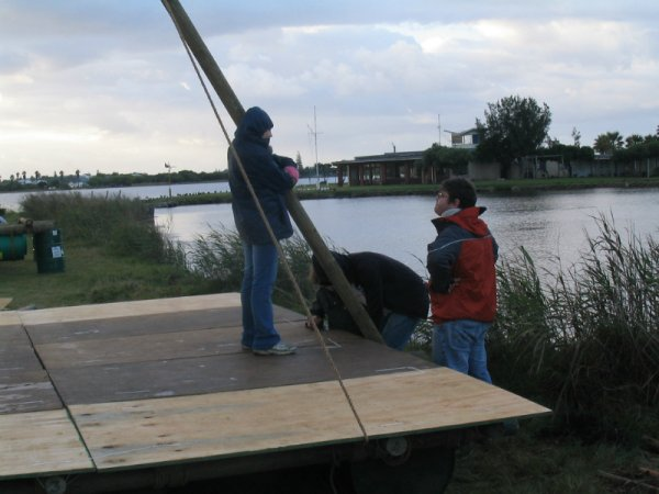 Discussing the raft