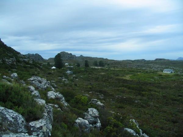 The various huts