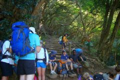 Overnight hike with 3rd Claremont Cubs 2014