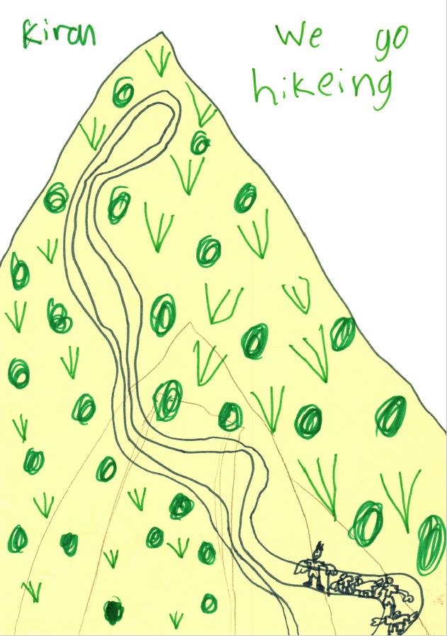Eagles Nest hike sketch